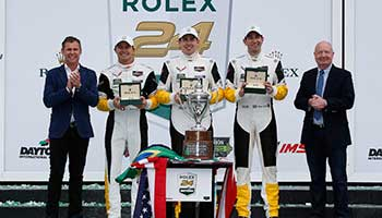 Corvette C7.Rs Finish 1-2 For Closest Class Finish In Rolex 24 History